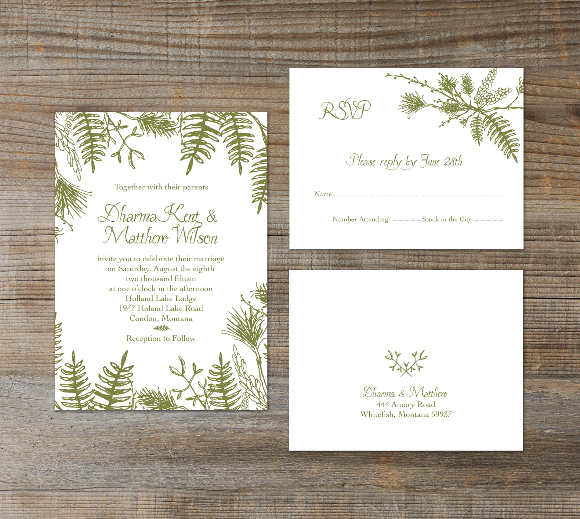 Forest Wedding Invitations – guitarreviews.co